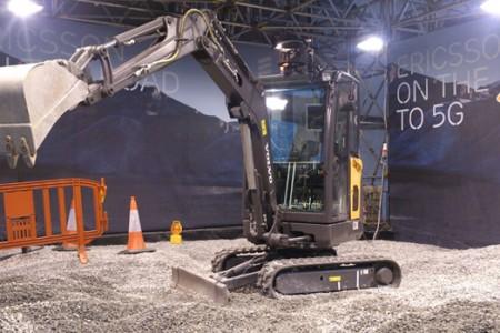 Excavadora 5G Ericsson blog virtualizando con Citrix