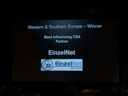 Premio Einzelnet Citrix Summit 2016