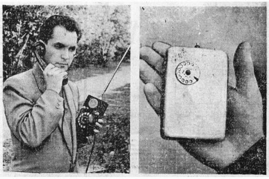 Primer teléfono móvil historia URSS Leonid Ivanovich Kupriyanovich