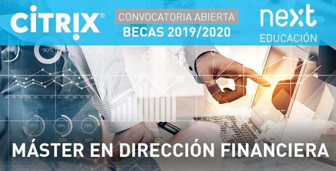 Becas Citrix Master Dirección Financiera Next IBS